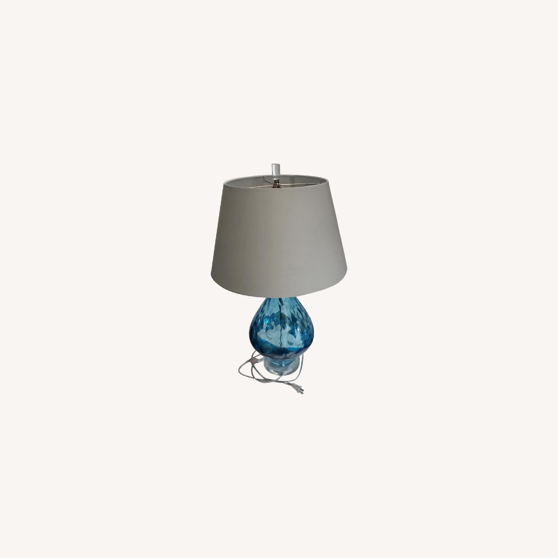 Wayfair Glass Lamp - image-0