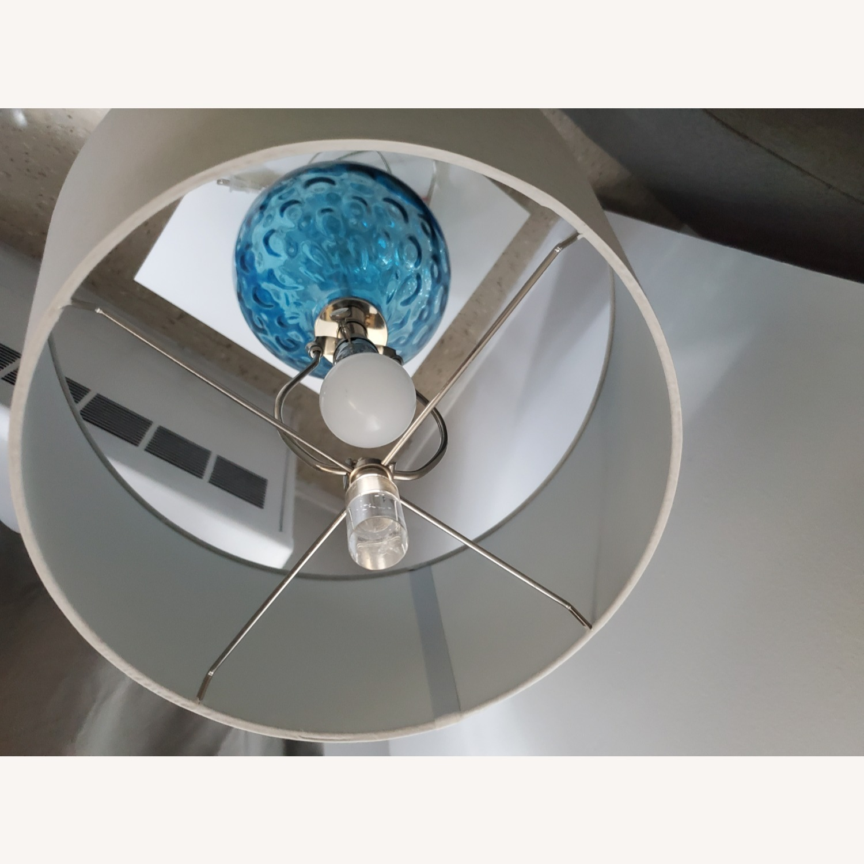 Wayfair Glass Lamp - image-3