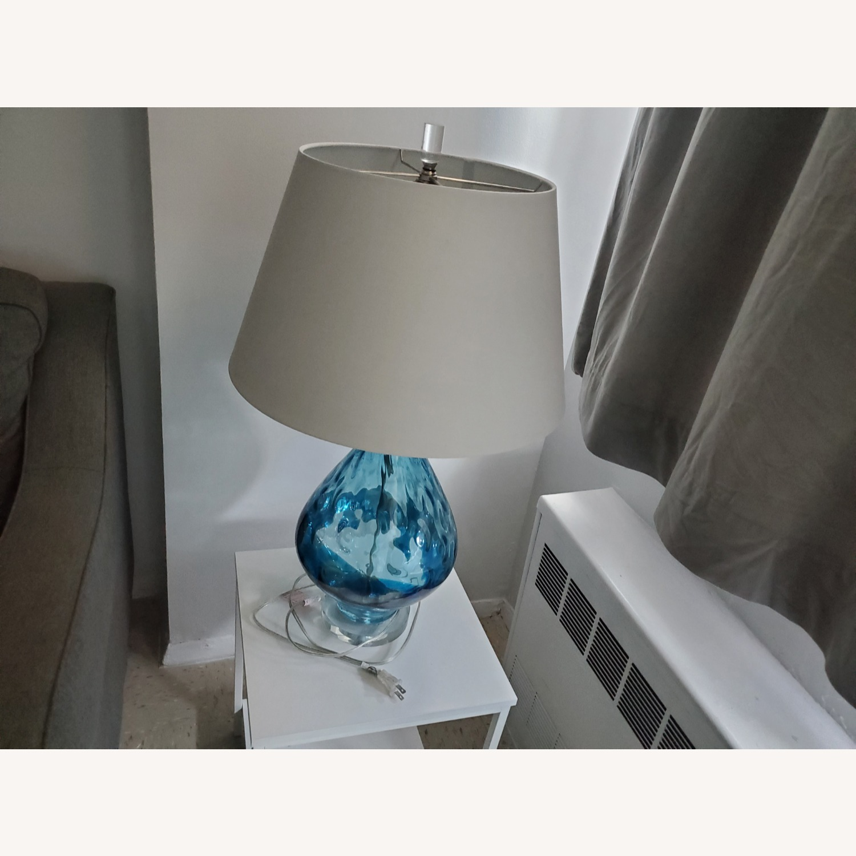 Wayfair Glass Lamp - image-2