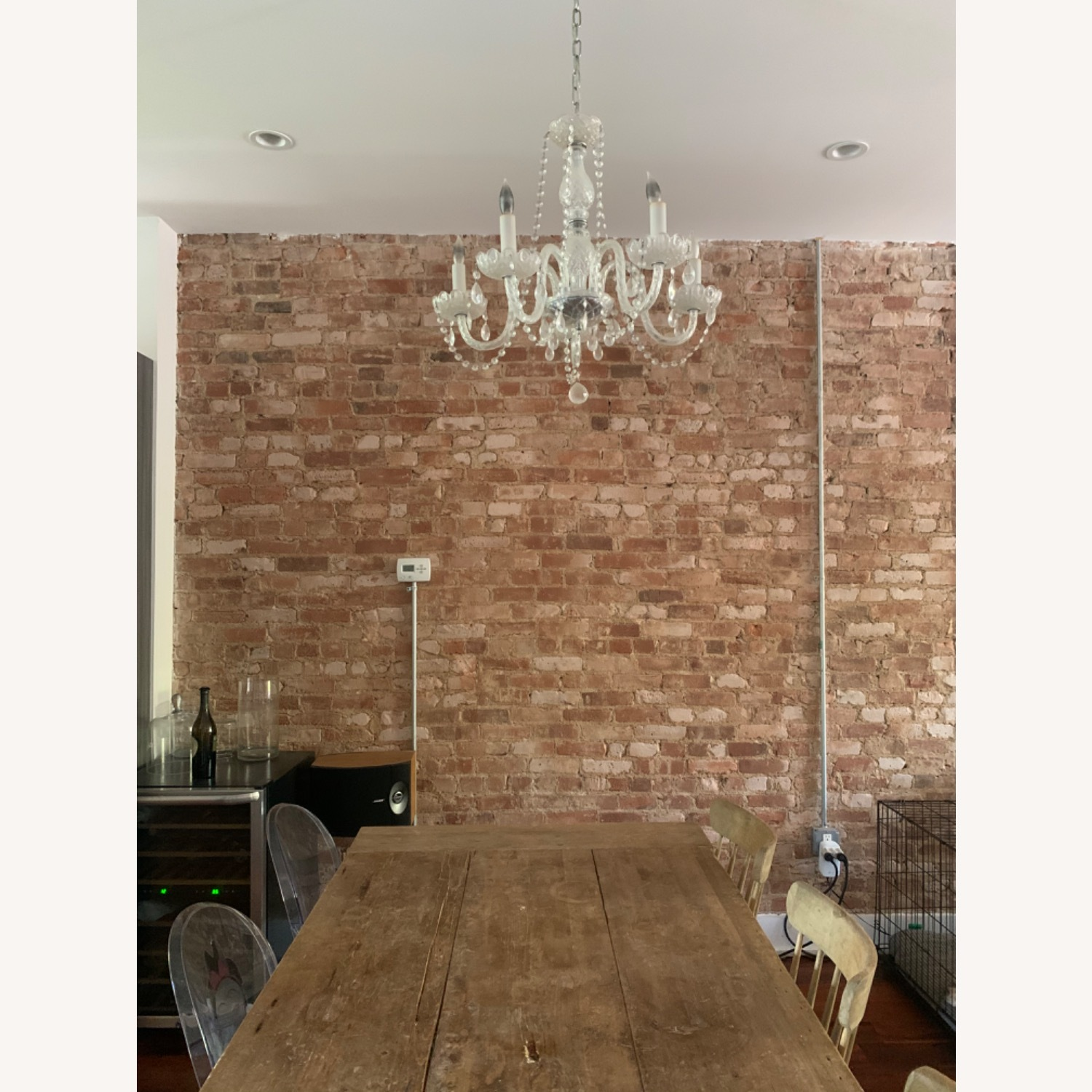 Clear Crystal Glass Chandelier - image-2