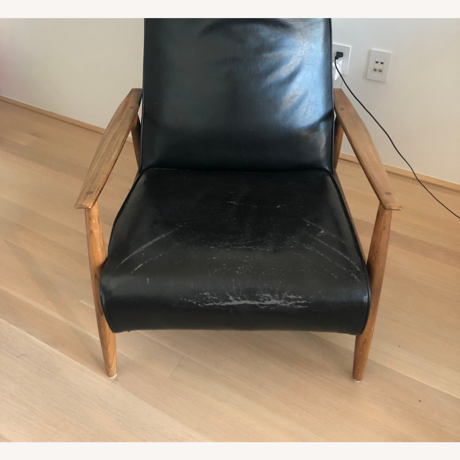Design Within Reach Black Recliner - image-3