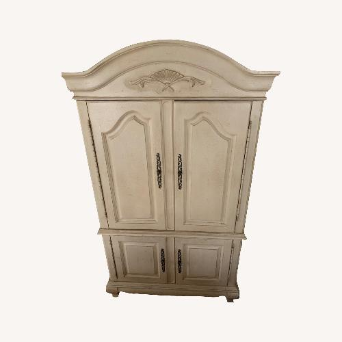Used Hooker Furniture 2 Piece Armoire for sale on AptDeco