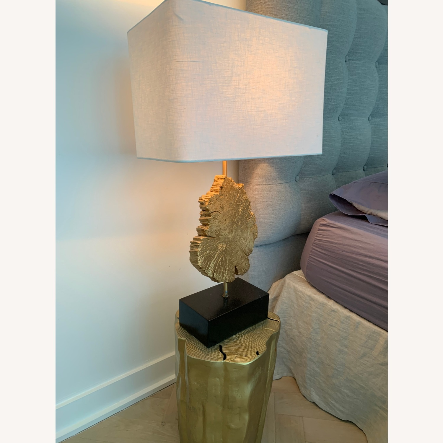 Set of Table Lamps- Black/Gold - image-2