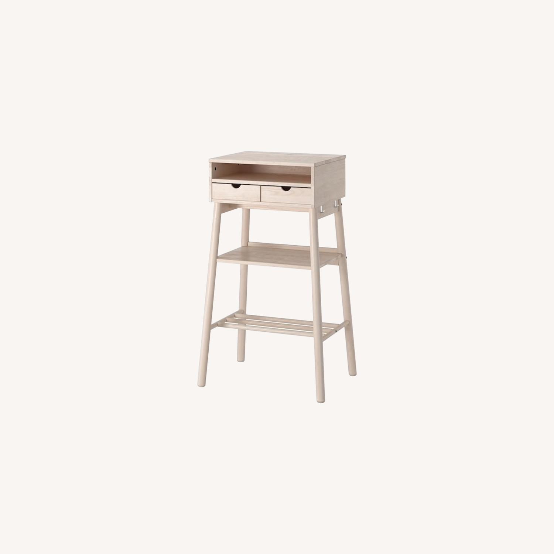 IKEA Standing Desk and Storage Unit - image-0