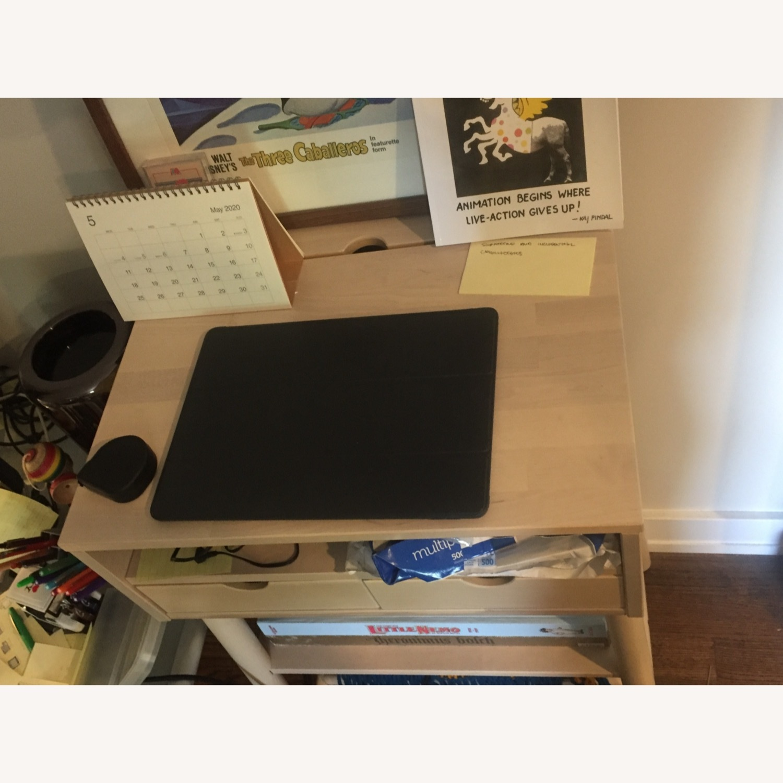 IKEA Standing Desk and Storage Unit - image-3