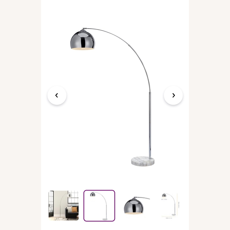 Wayfair Stylish Chrome Floor Lamp - image-5