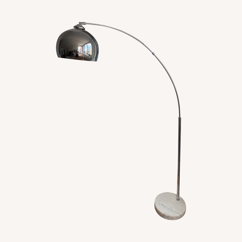 Wayfair Stylish Chrome Floor Lamp - image-0