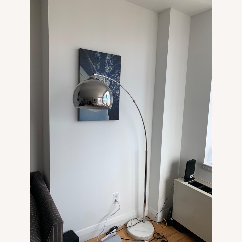 Wayfair Stylish Chrome Floor Lamp - image-2