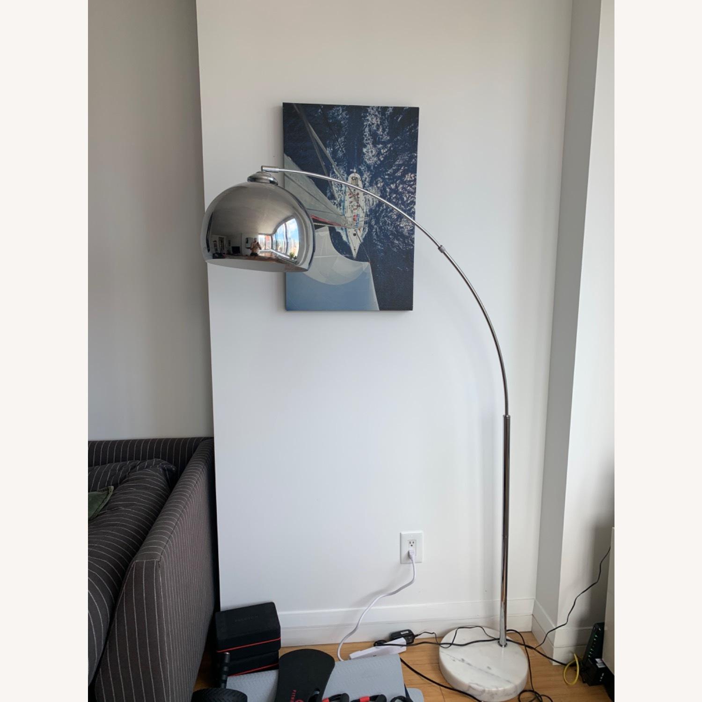 Wayfair Stylish Chrome Floor Lamp - image-3