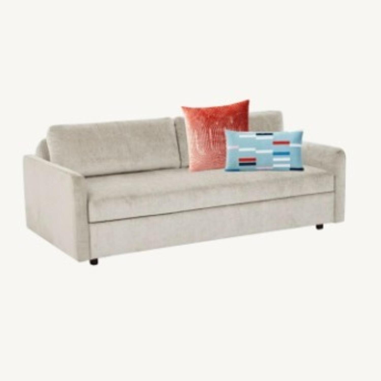 West Elm Clara Sleeper Sofa Bundle - image-0