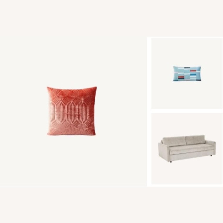 West Elm Clara Sleeper Sofa Bundle - image-1