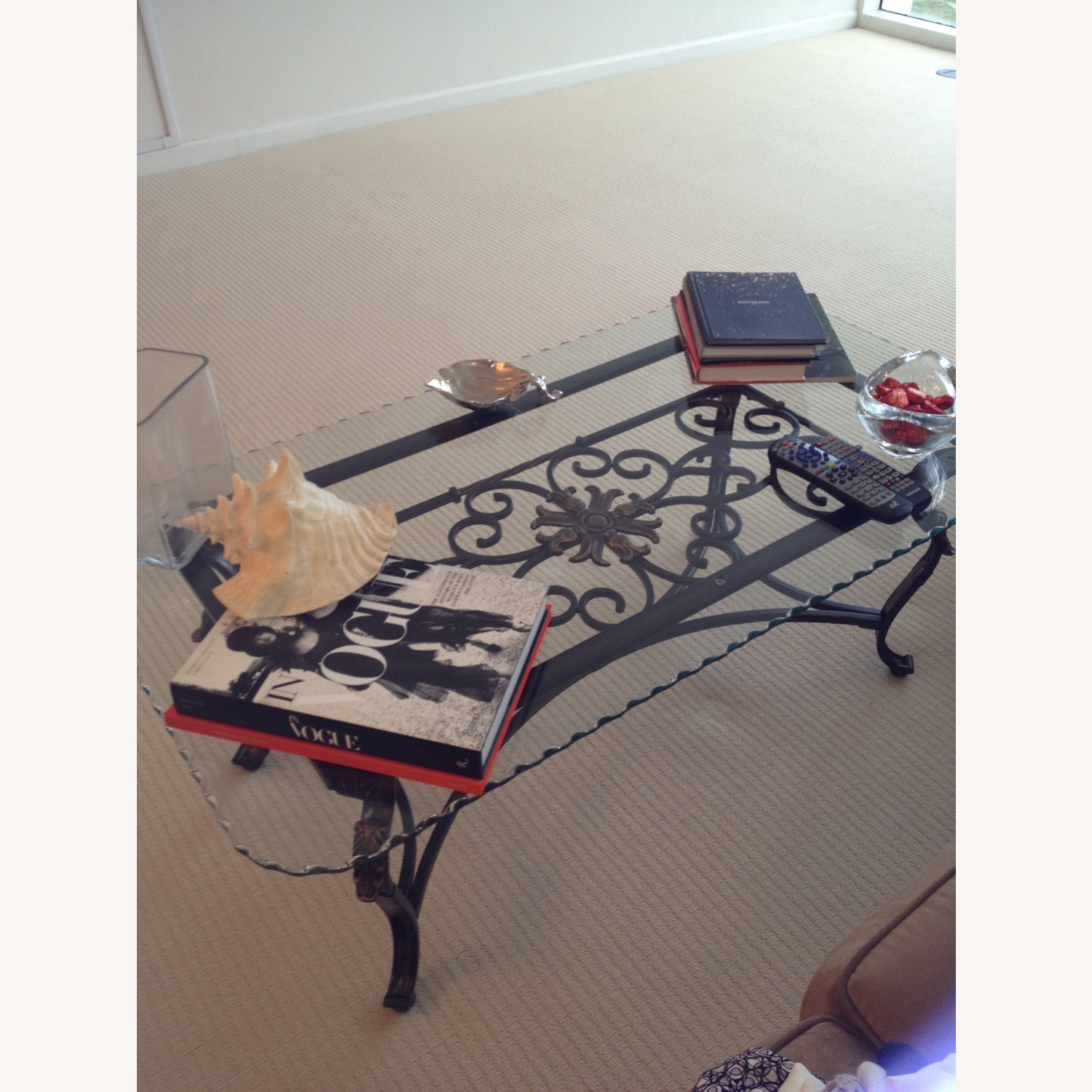 Glass Coffee Table - image-0