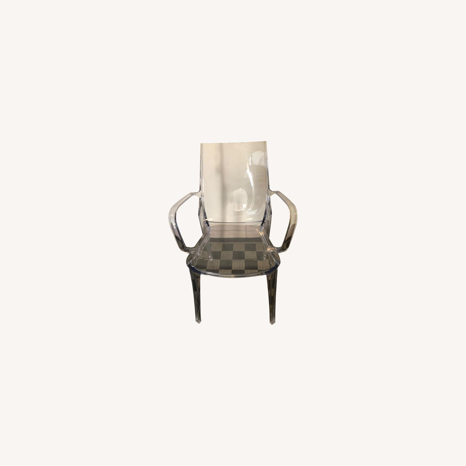 Scab Design Vanity Armchair Transparent - image-0