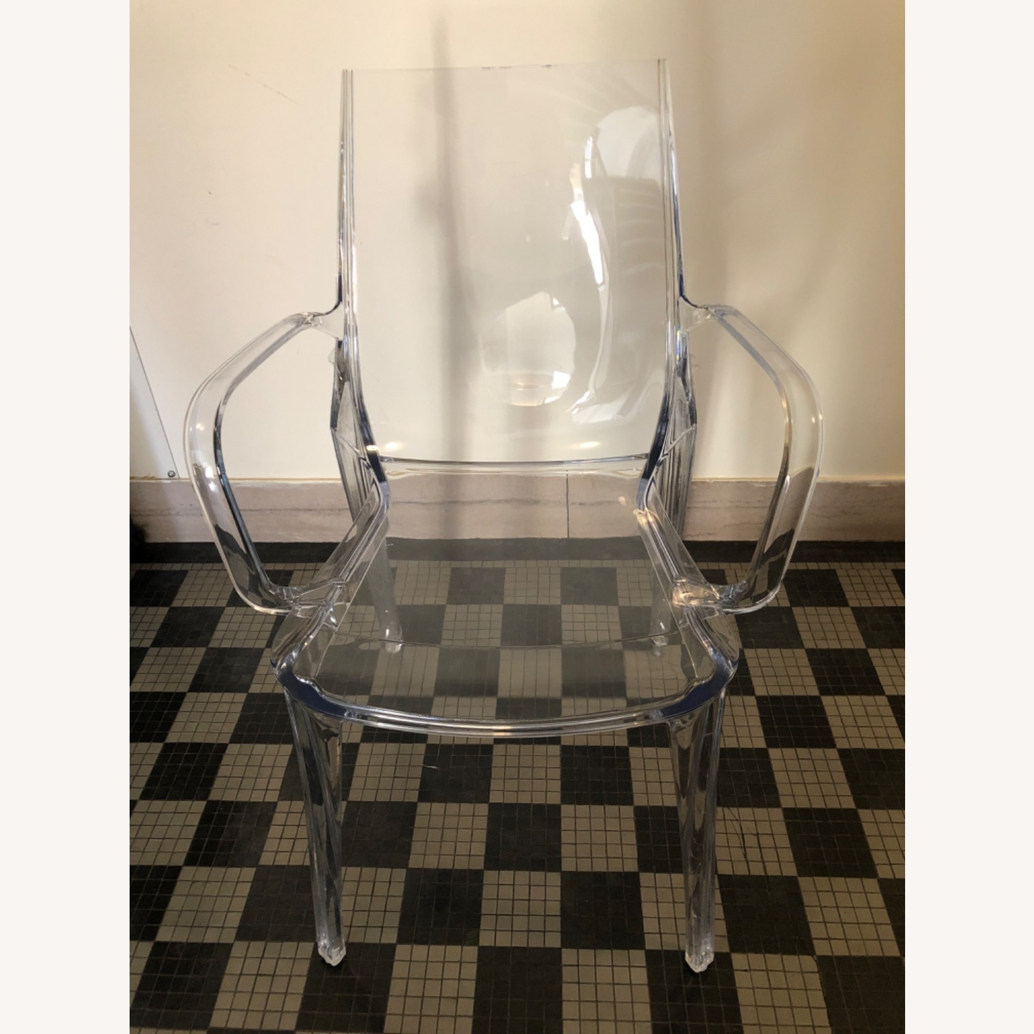 Scab Design Vanity Armchair Transparent - image-1