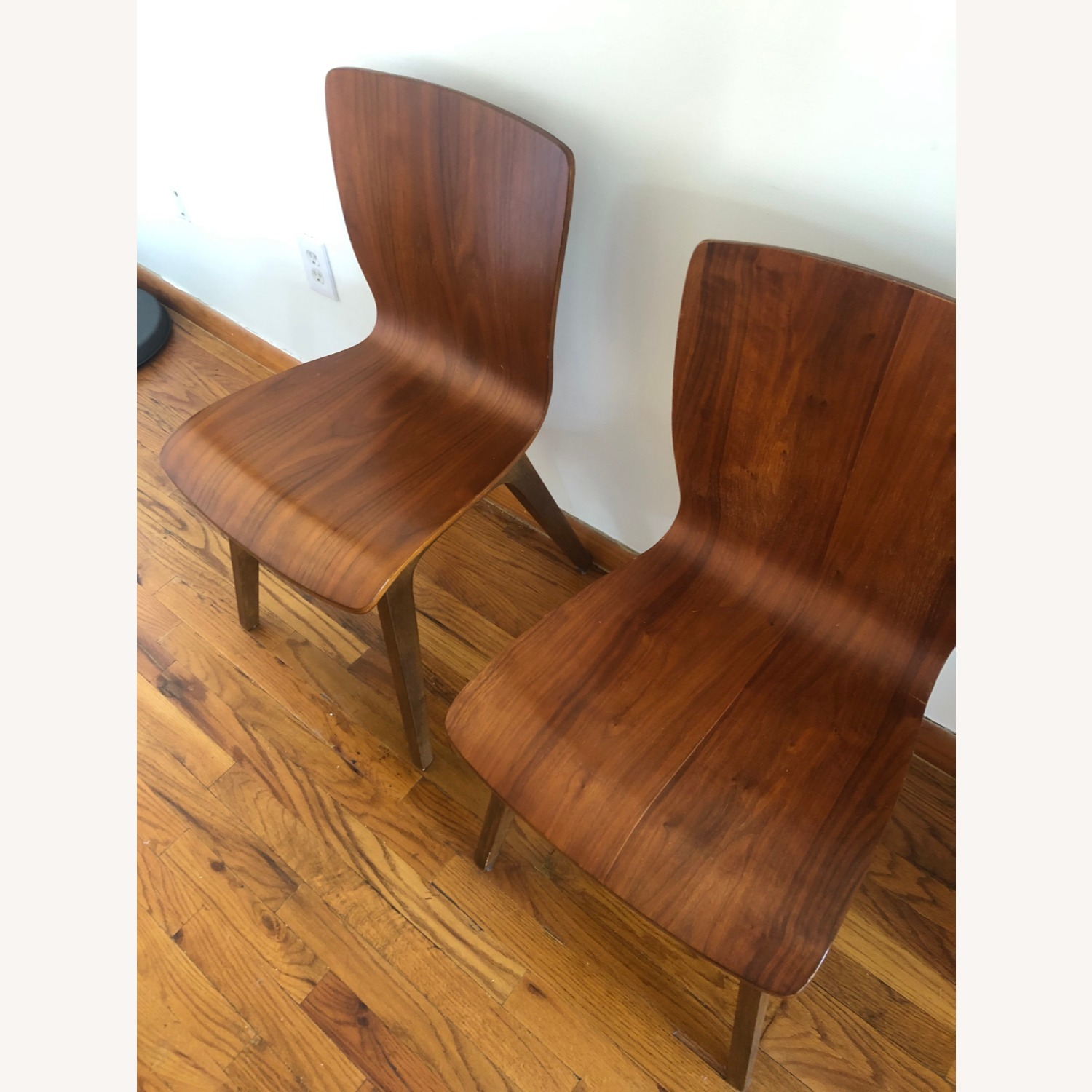 West Elm Crest Bentwood Dining Chair (Set of 2) - image-3