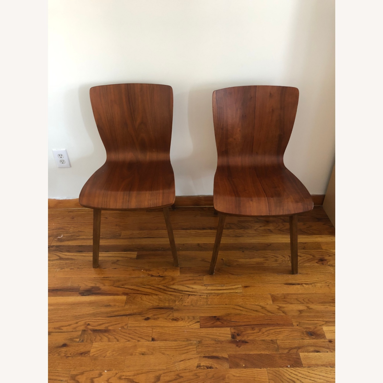 West Elm Crest Bentwood Dining Chair (Set of 2) - image-2
