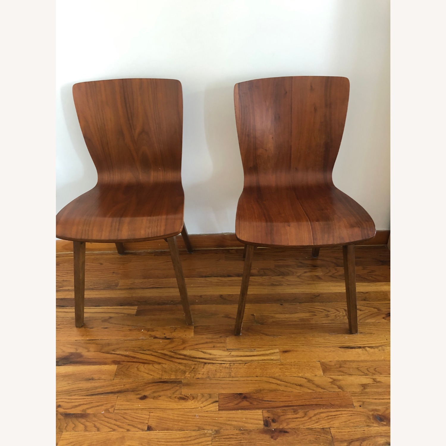 West Elm Crest Bentwood Dining Chair (Set of 2) - image-4