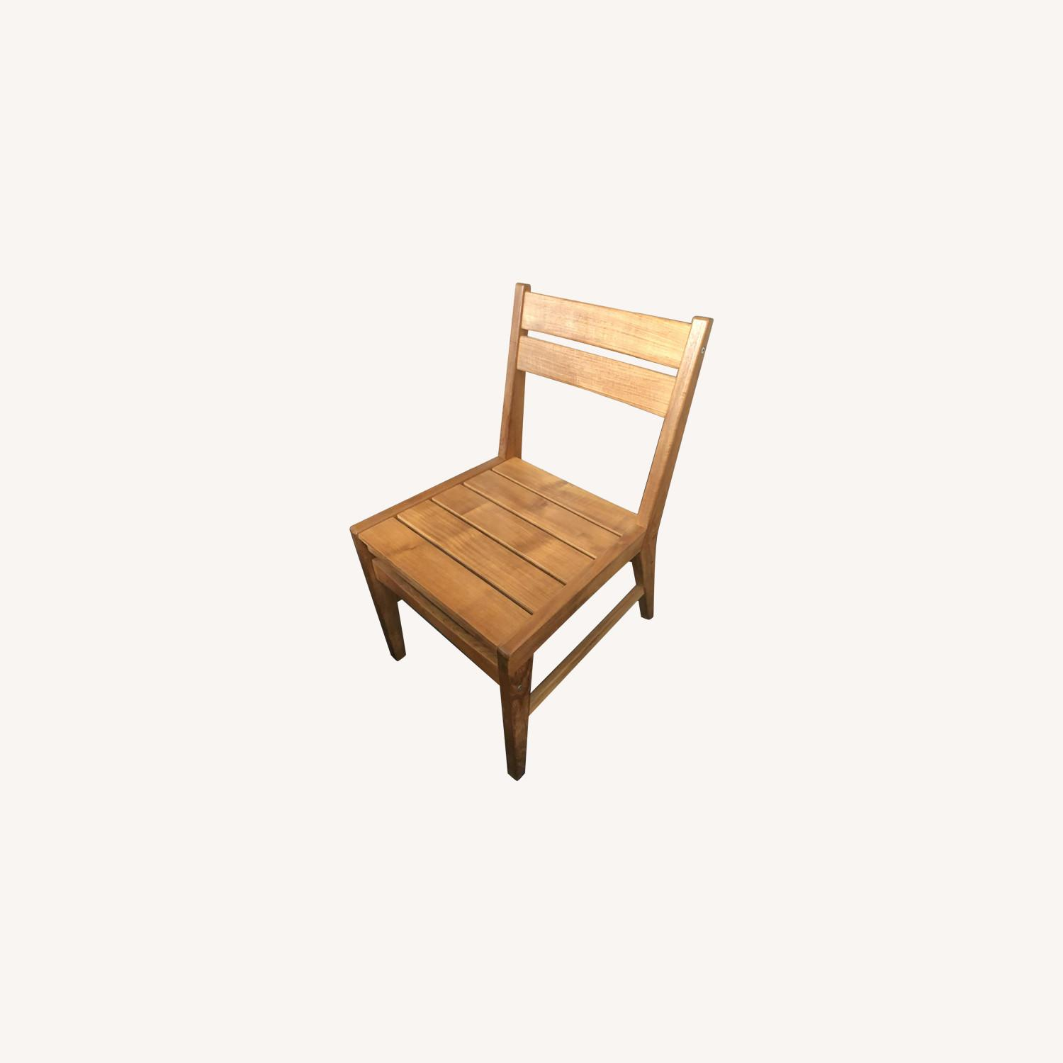 West Elm Wooden Chairs (Set of 2) - image-0