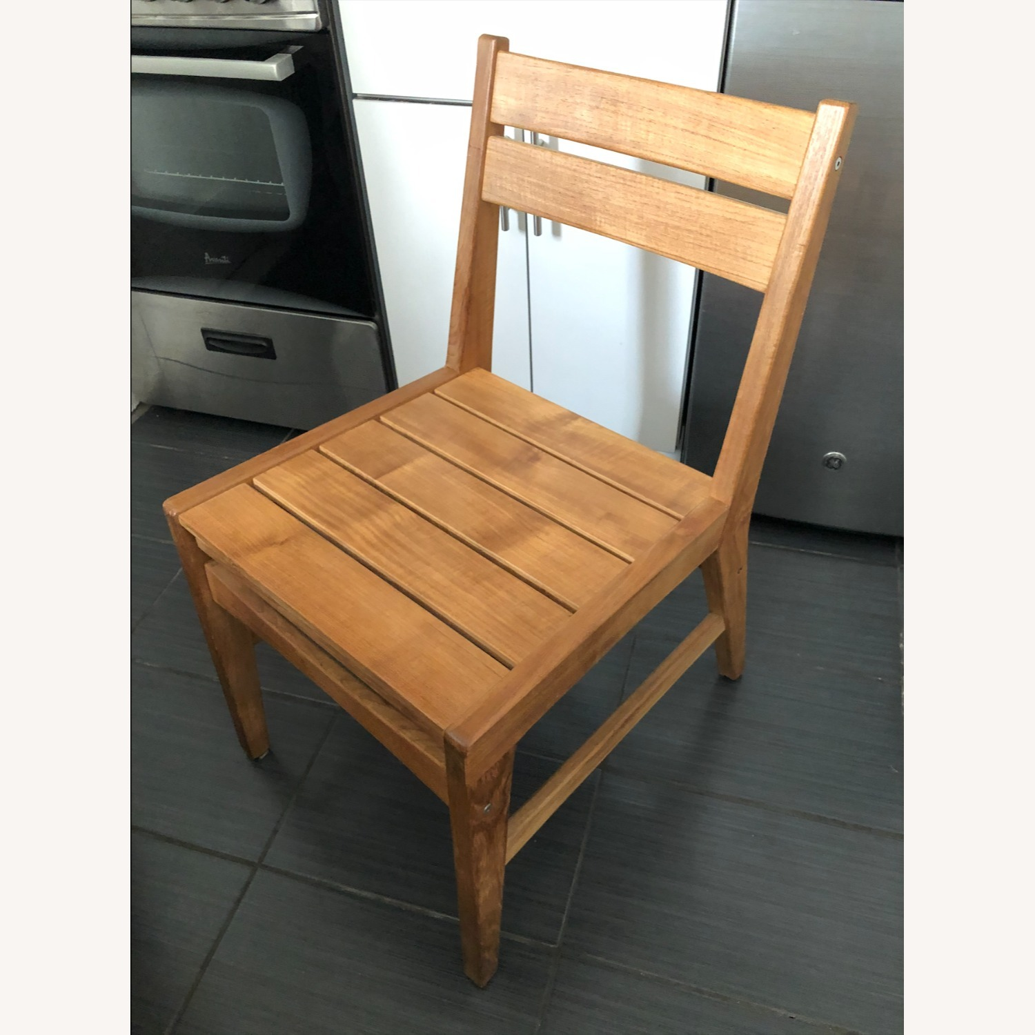 West Elm Wooden Chairs (Set of 2) - image-1