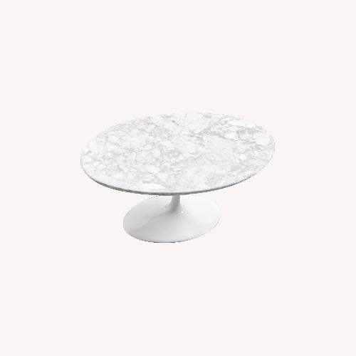 Used Rove Concepts Saarinen Tulip Coffee Table Replica for sale on AptDeco