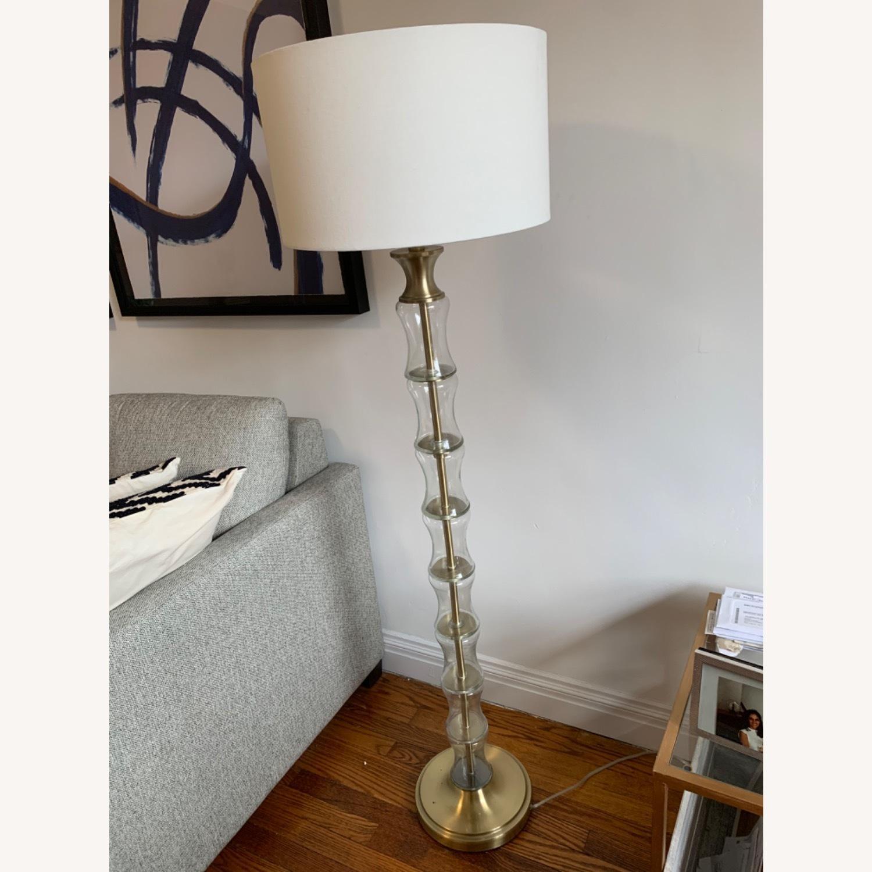Gold Floor Lamp - image-1