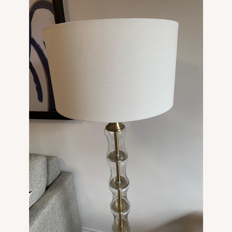 Gold Floor Lamp - image-2