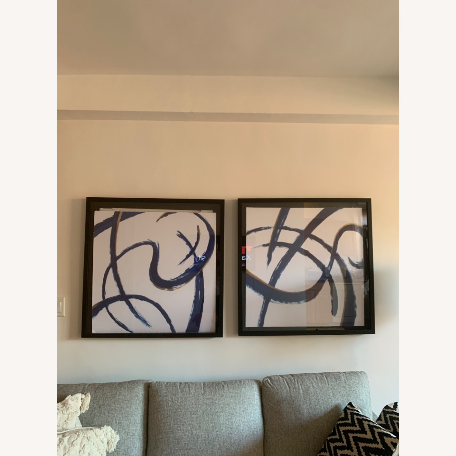 Wall Art with Frame (Set of 2) - image-0