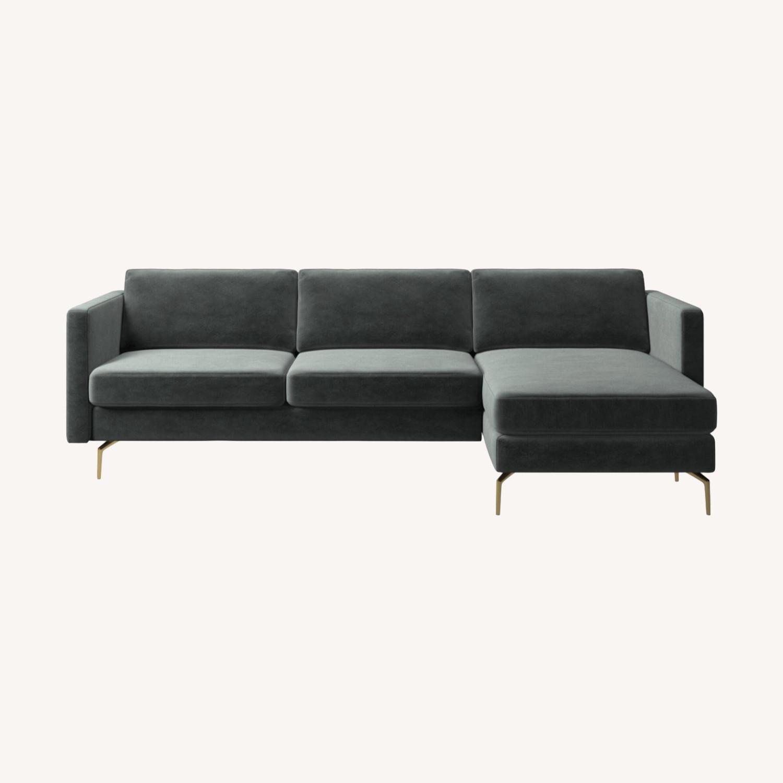 BoConcept Osaka Sofa with Resting Unit - image-0