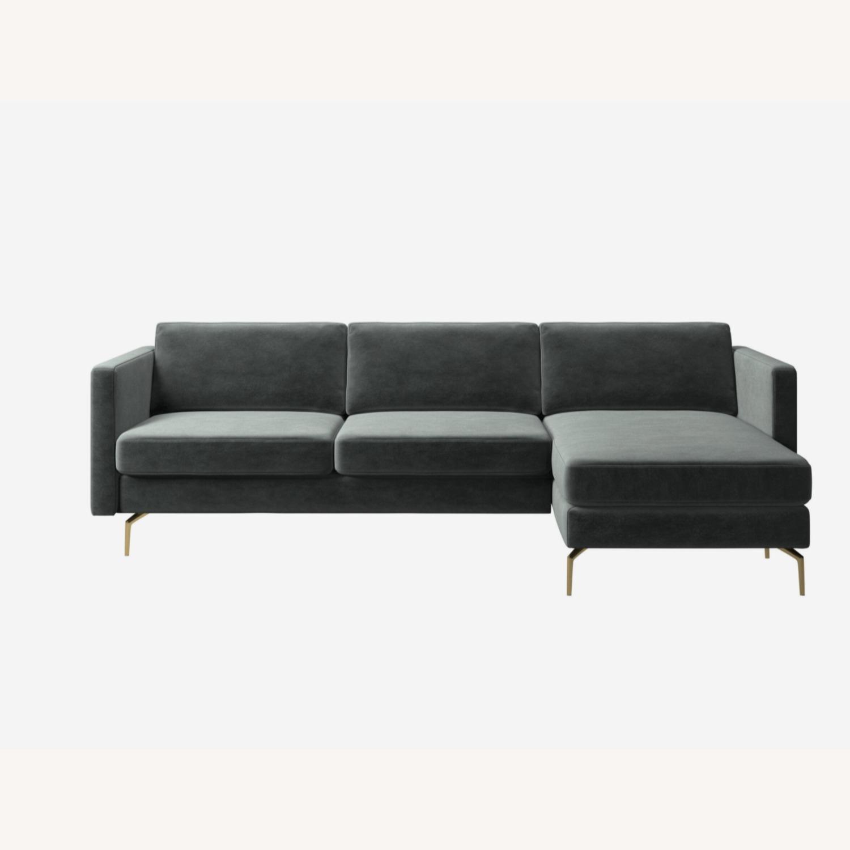 BoConcept Osaka Sofa with Resting Unit - image-1