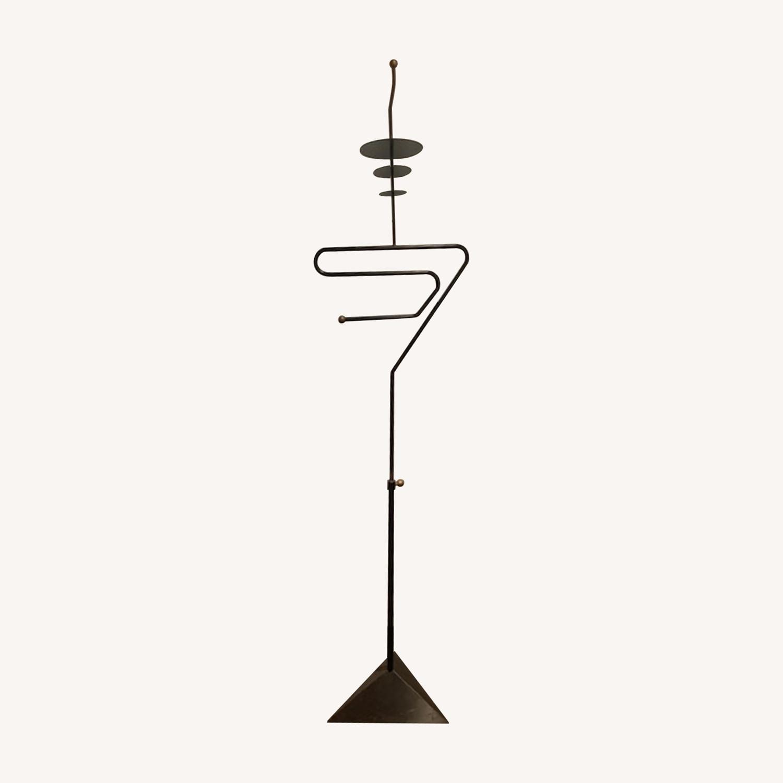 S-shaped Art Form Sculptural Valet in Black - image-0
