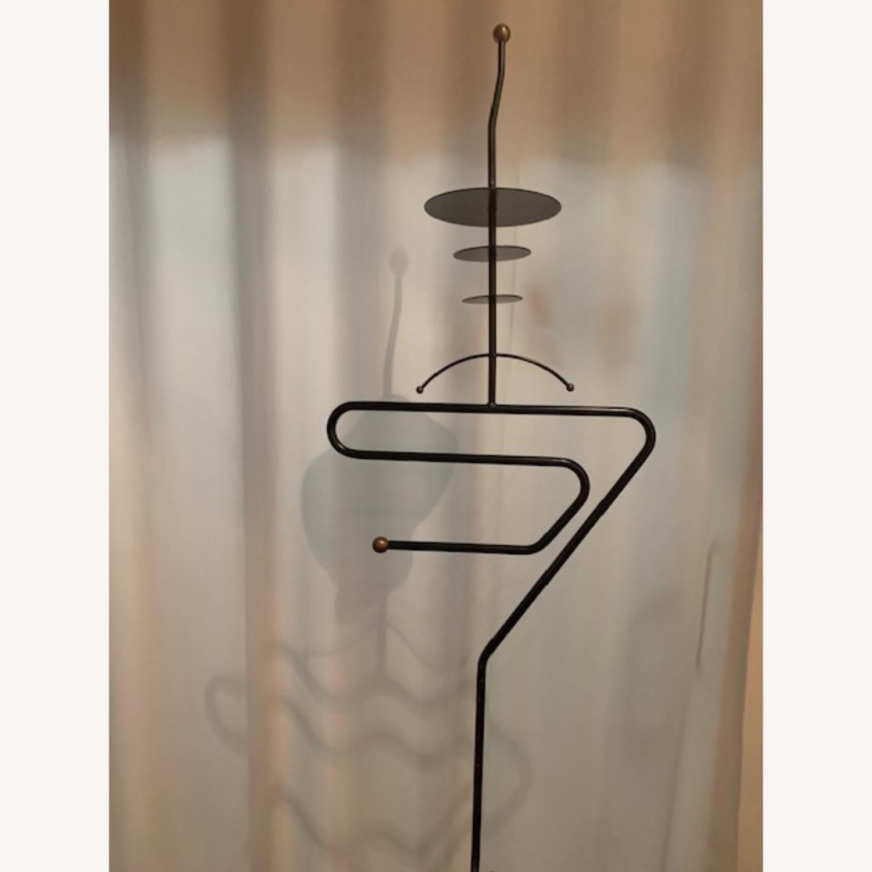 S-shaped Art Form Sculptural Valet in Black - image-2