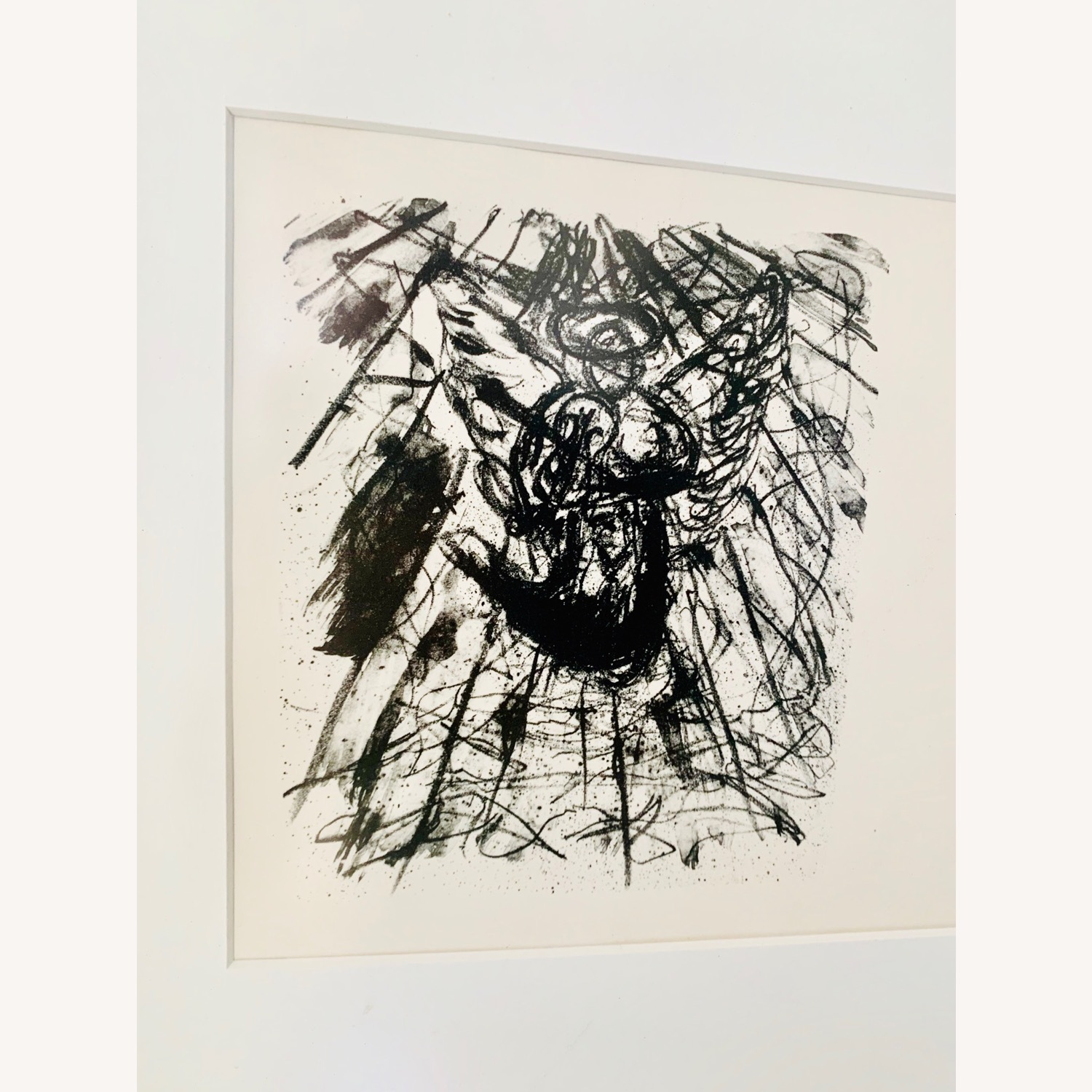 Vintage Triptych Abstract Drawings - image-4