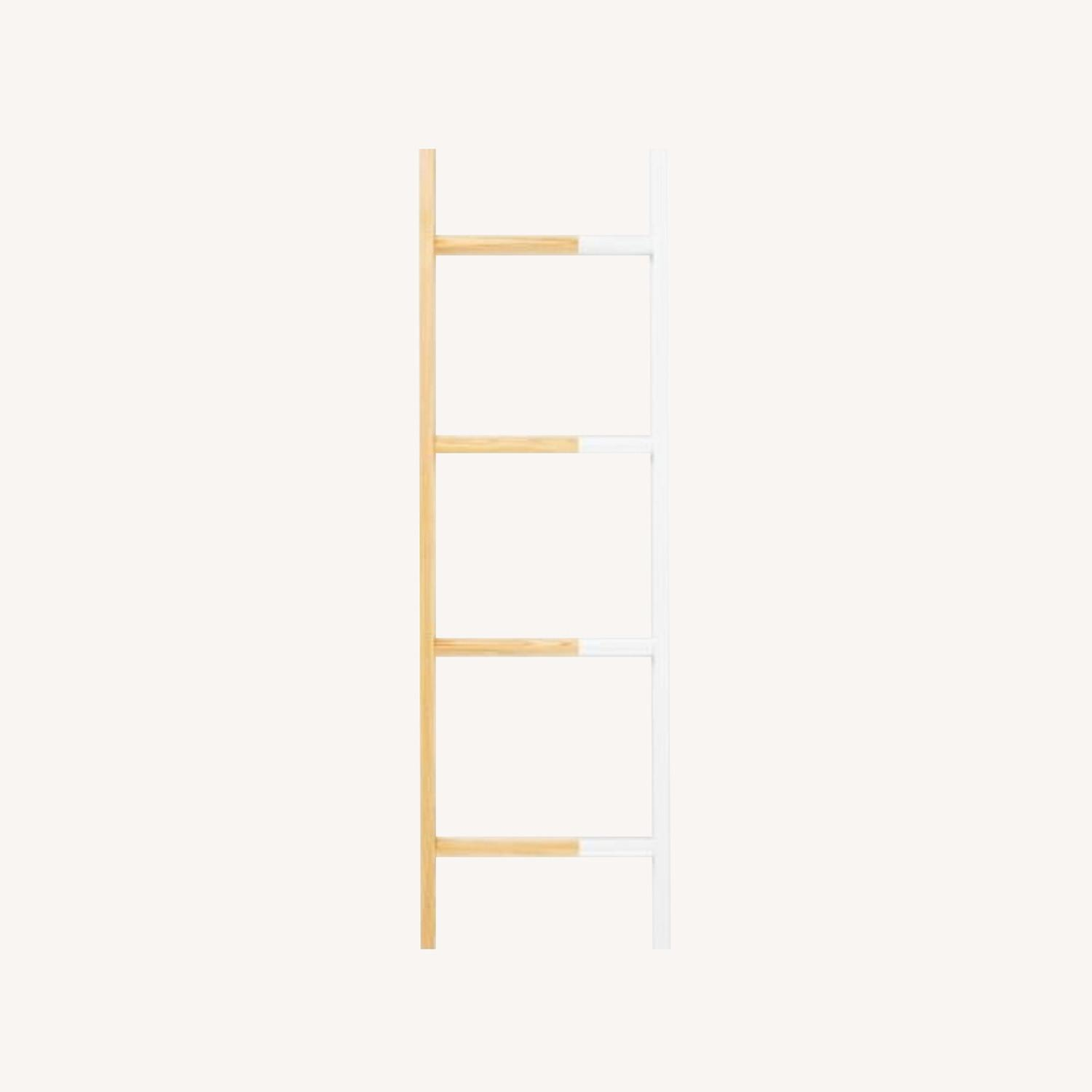 West Elm Co Found Ladder Small White - image-0