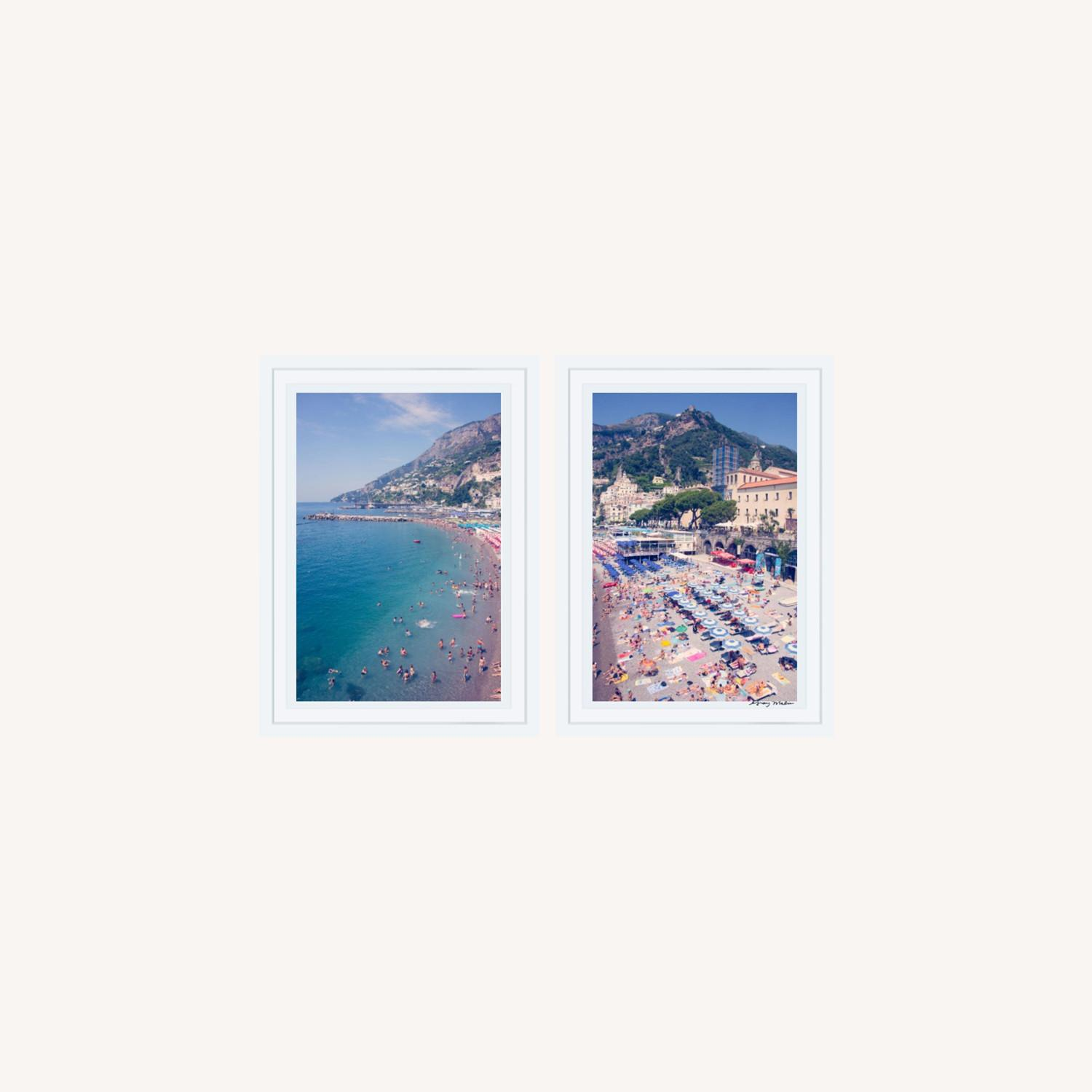Authentic Gray Malin Positano Diptych Prints - image-0