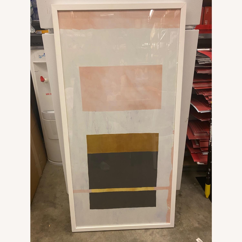 West Elm Watercolor Framed Print - image-8