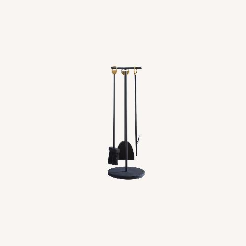 Used West Elm Cut Out Fireplace Tools for sale on AptDeco
