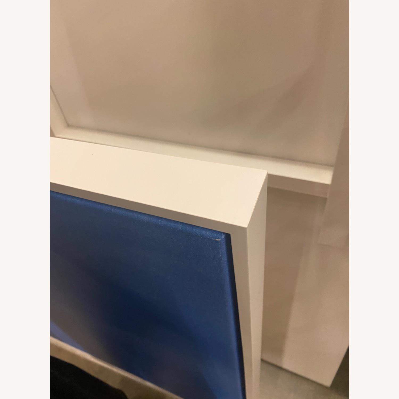 West Elm Roar + Rabbit Blue Framed Canvas - image-2