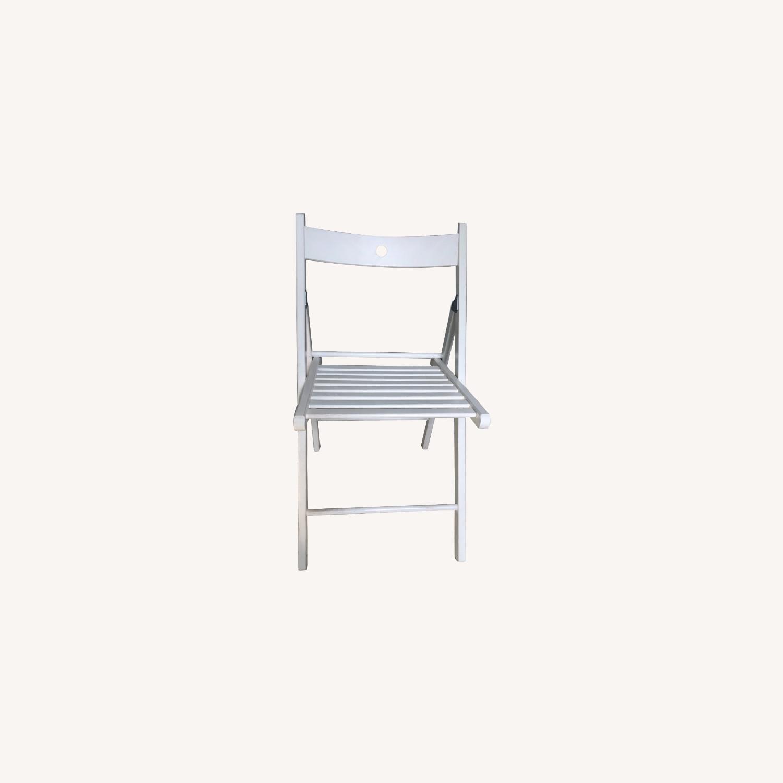 IKEA TERJE Wooden Folding Chairs - image-0