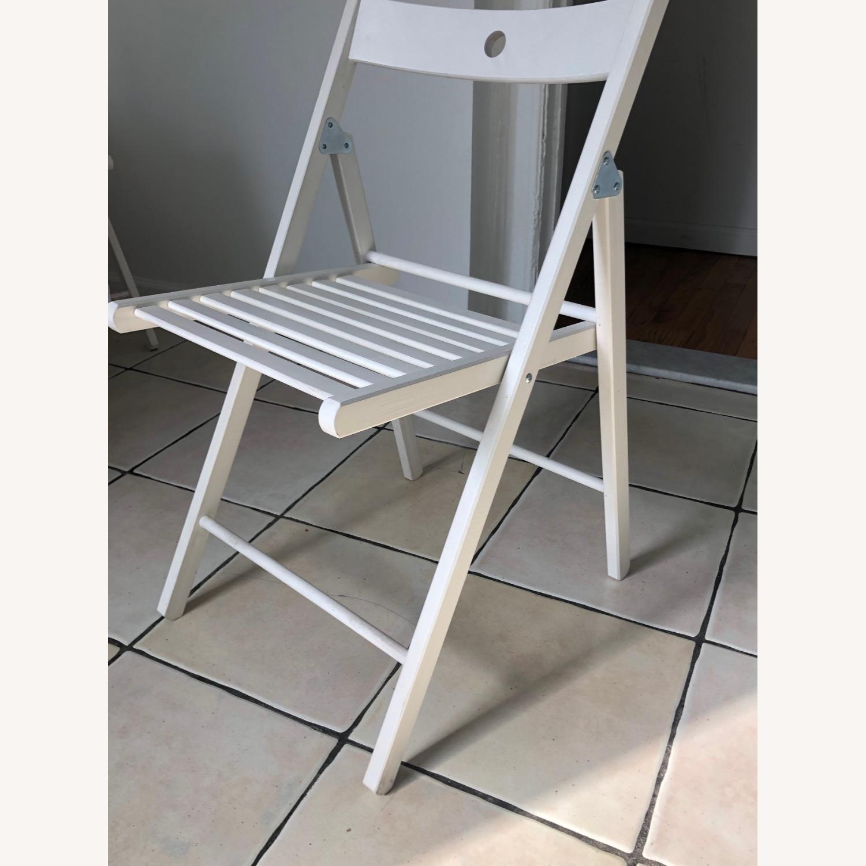 IKEA TERJE Wooden Folding Chairs - image-3