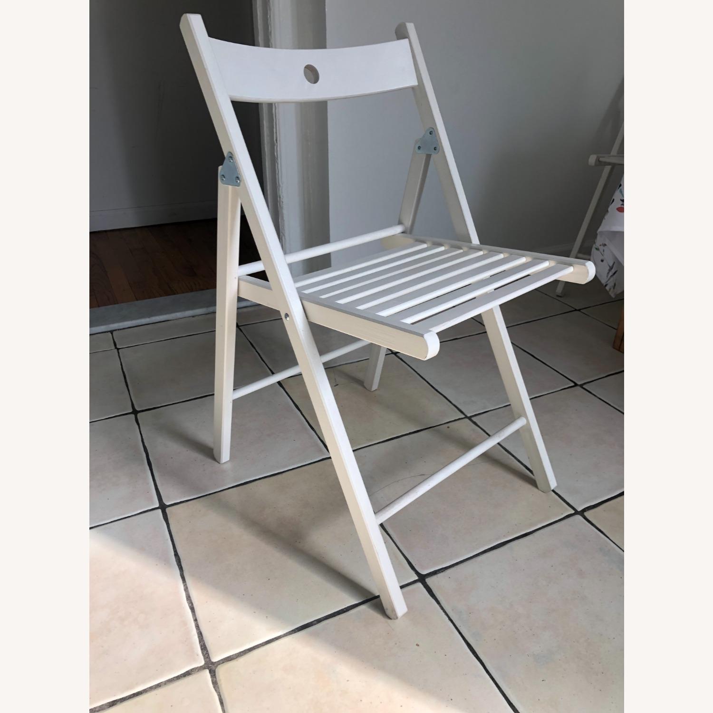 IKEA TERJE Wooden Folding Chairs - image-2