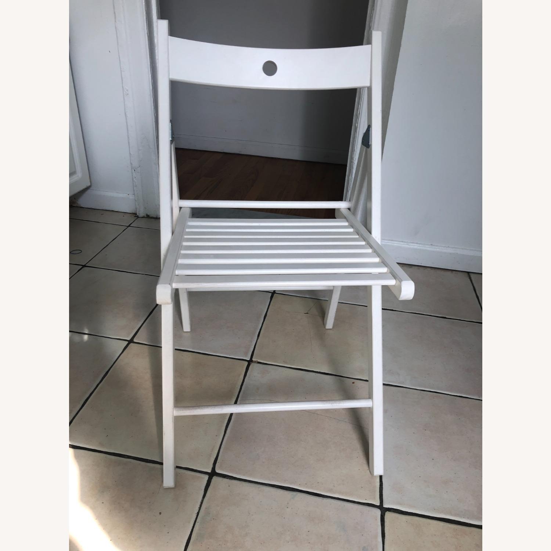 IKEA TERJE Wooden Folding Chairs - image-1