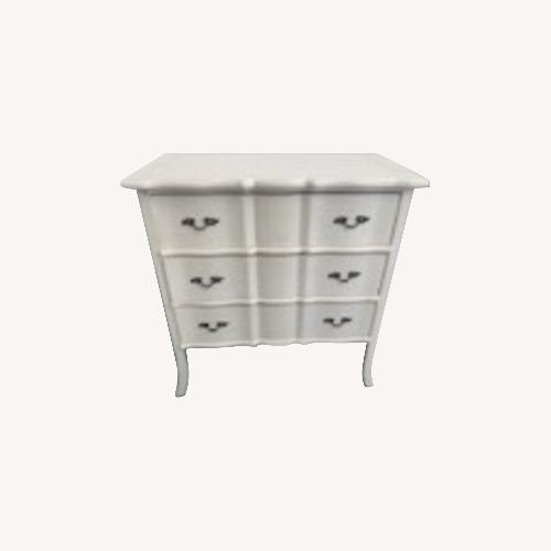 Used Nadau Furniture White Dresser for sale on AptDeco