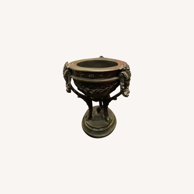 Matching Pair of Decorative Urns - image-0