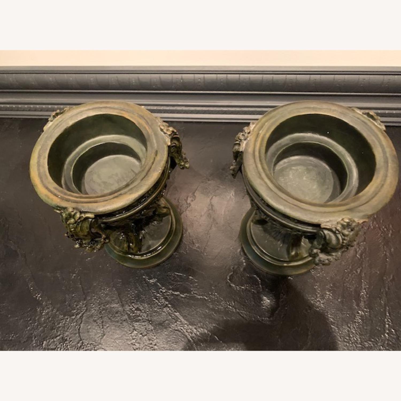 Matching Pair of Decorative Urns - image-3