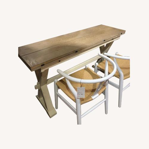 Used France and Son Wooden Folding Dining Table for sale on AptDeco