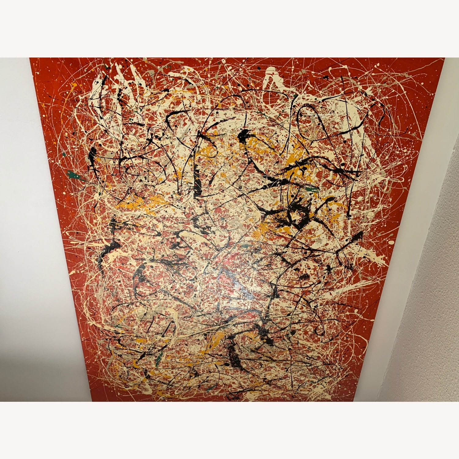 XL Painting- Jackson Pollock Reproduction - image-4