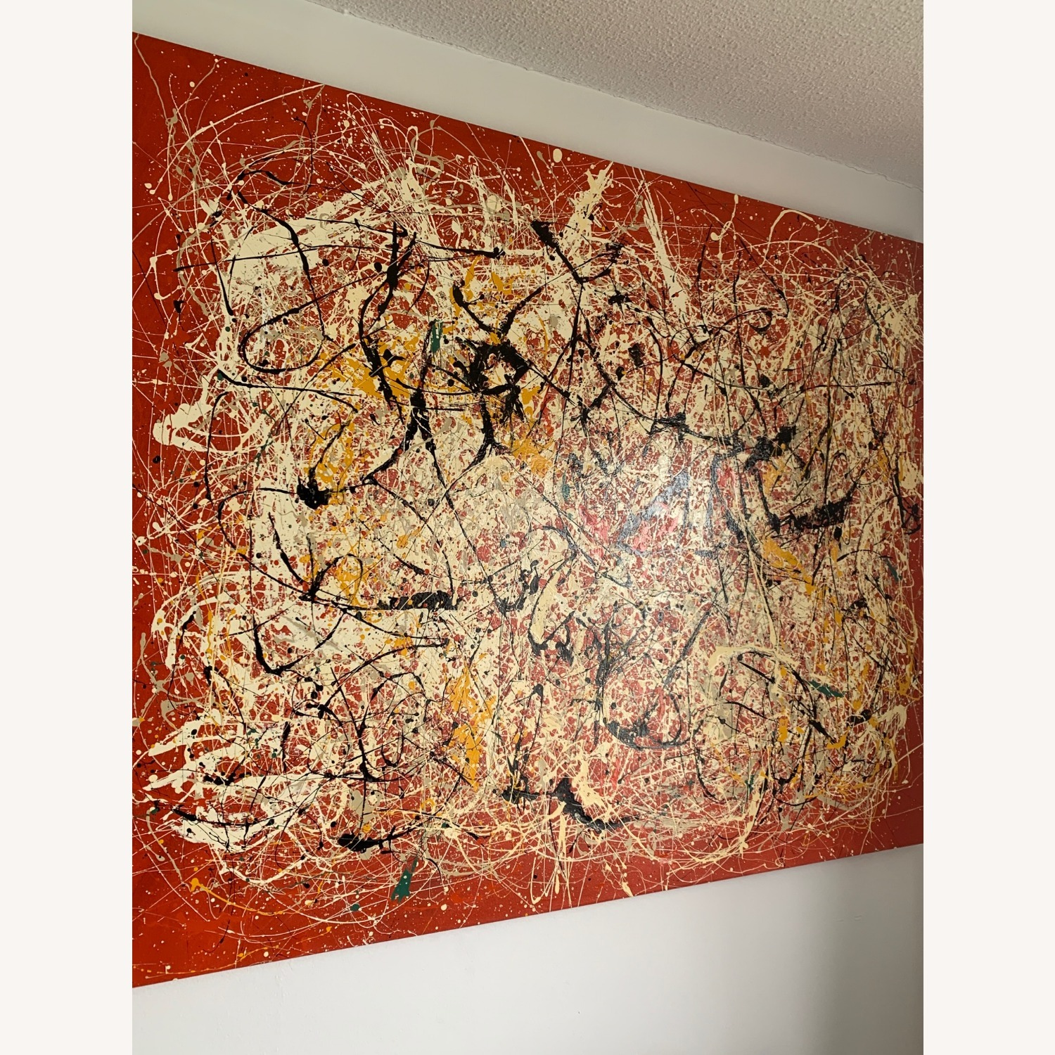 XL Painting- Jackson Pollock Reproduction - image-3