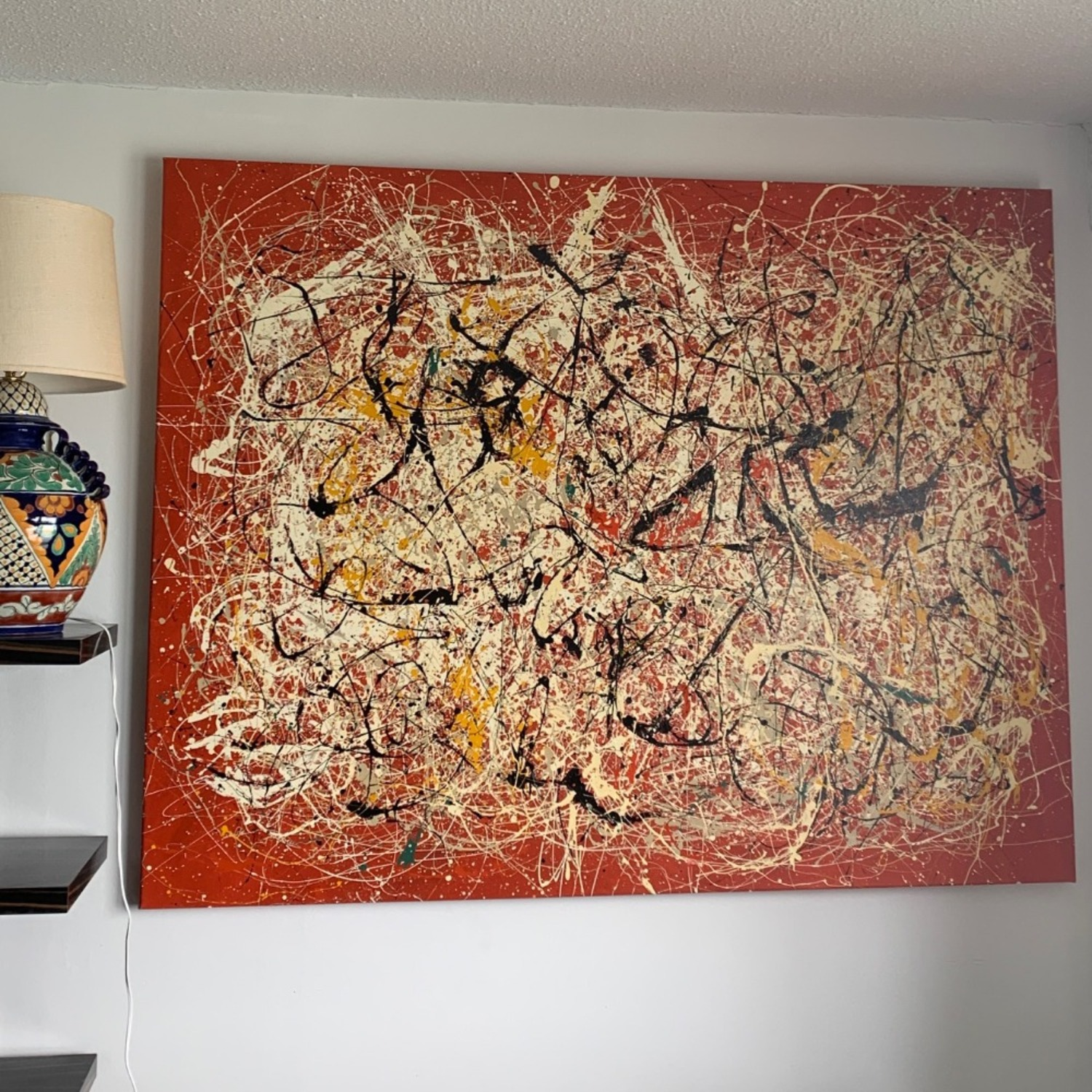 XL Painting- Jackson Pollock Reproduction - image-1