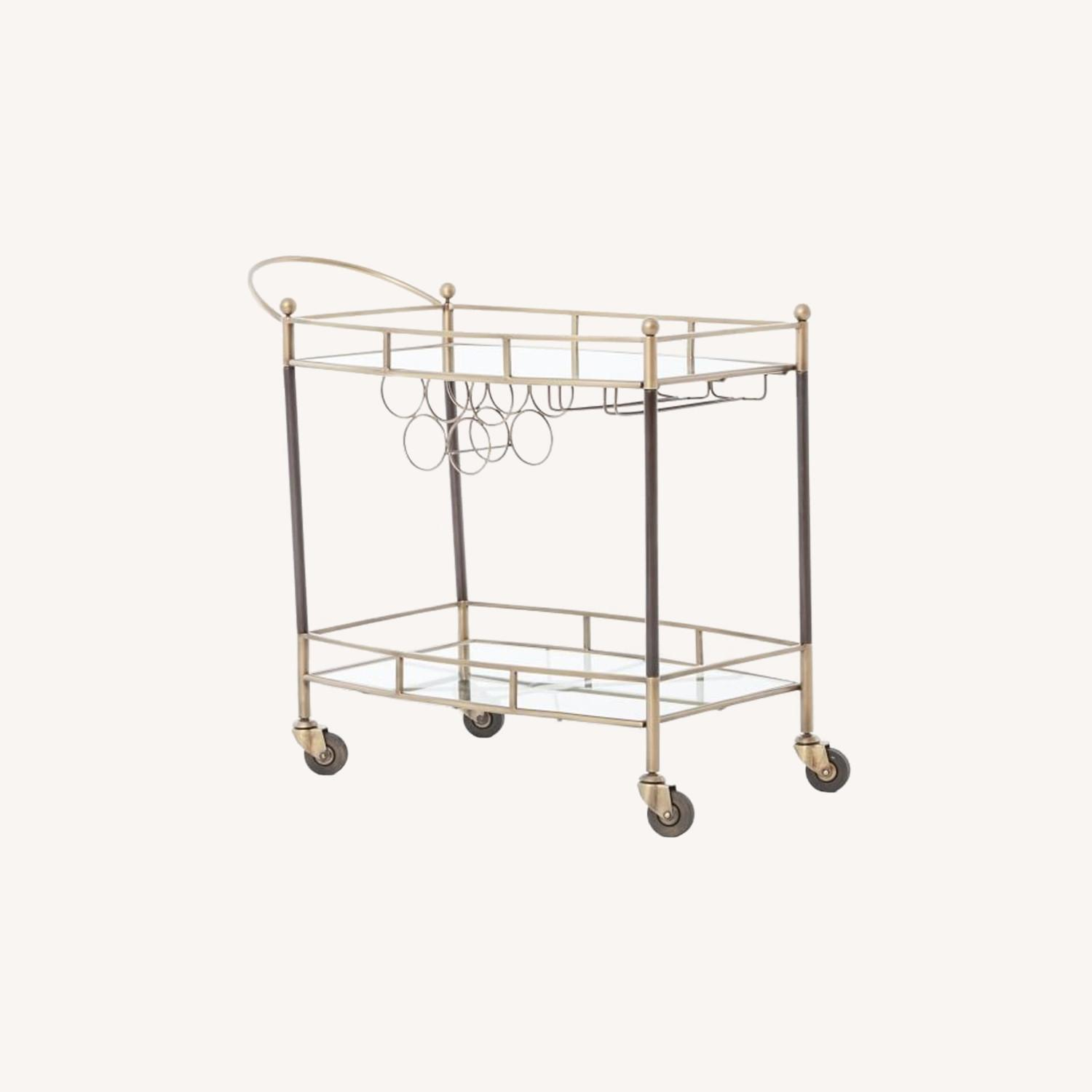 West Elm Aster Bar Cart - image-0