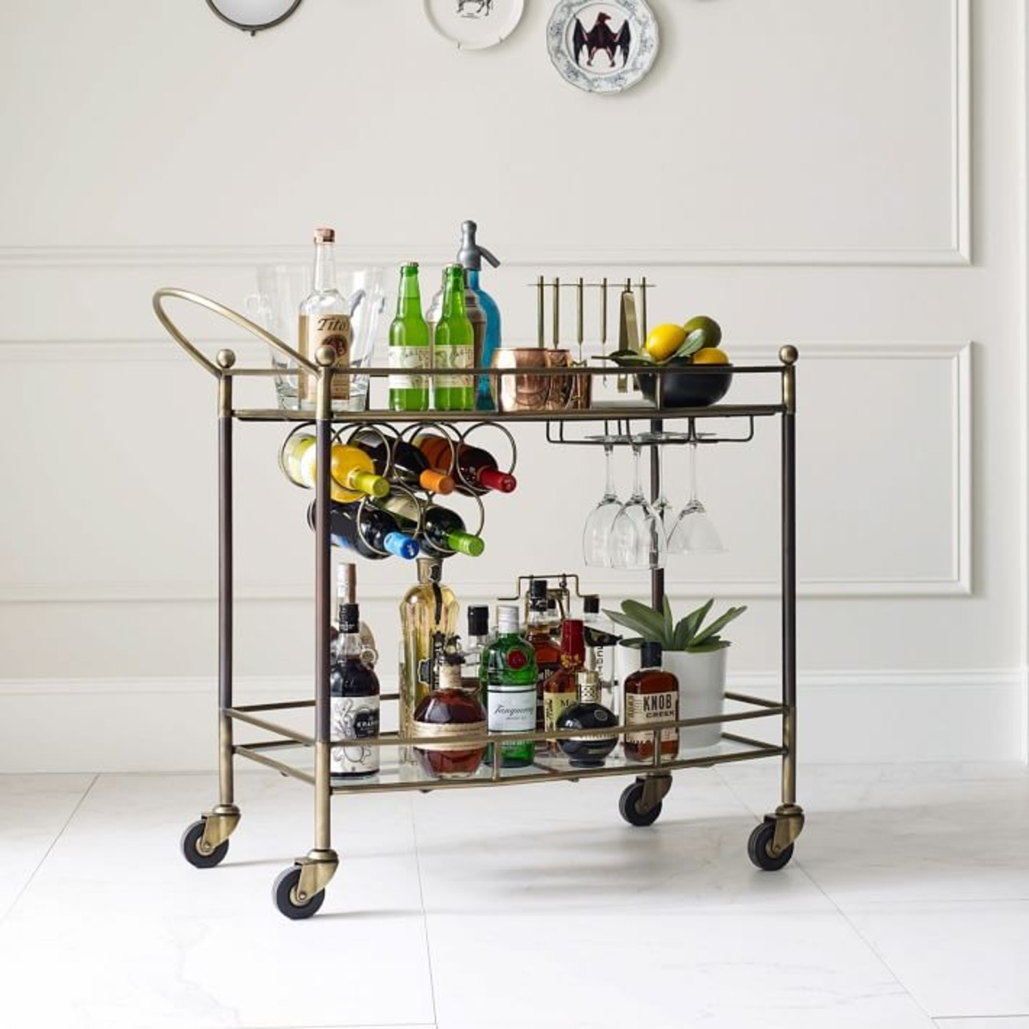 West Elm Aster Bar Cart - image-3
